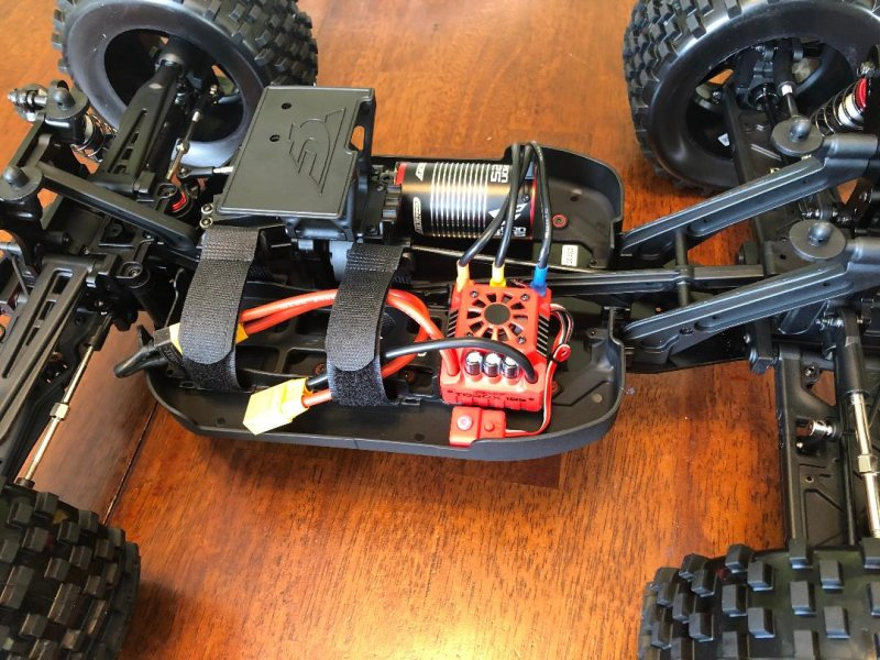 Image 8 of Corally 1/8 Kronos XP 4WD Monster Truck 6S Brushless RTR (No Battery or Charg