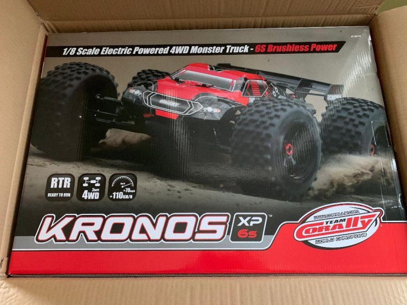 Image 2 of Corally 1/8 Kronos XP 4WD Monster Truck 6S Brushless RTR (No Battery or Charg