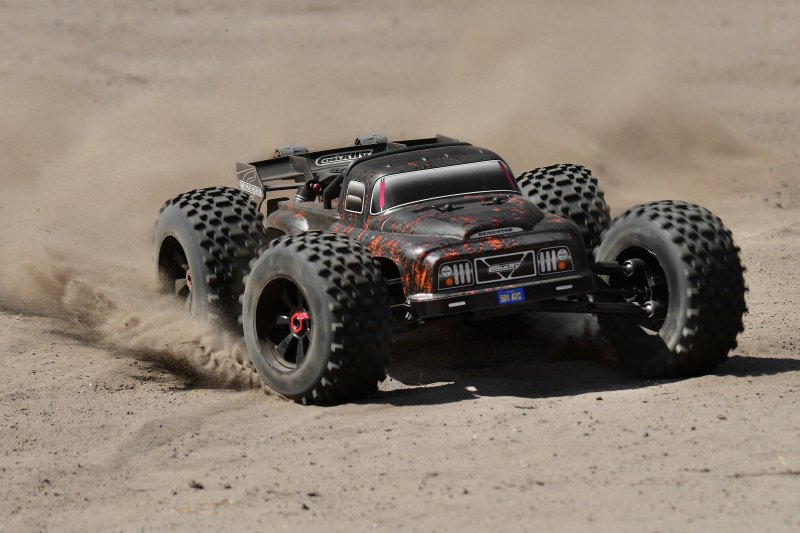 Image 5 of Corally 1/8 Dementor XP 4WD SWheelbase Monster Truck 6S Brushless RTR (No Batter