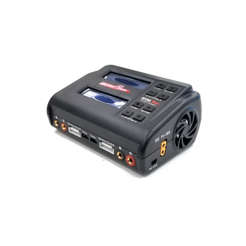 Image 1 of Ultra Power UP200 DUO 200W Dual Port Multi-Chemistry AC/DC Charge