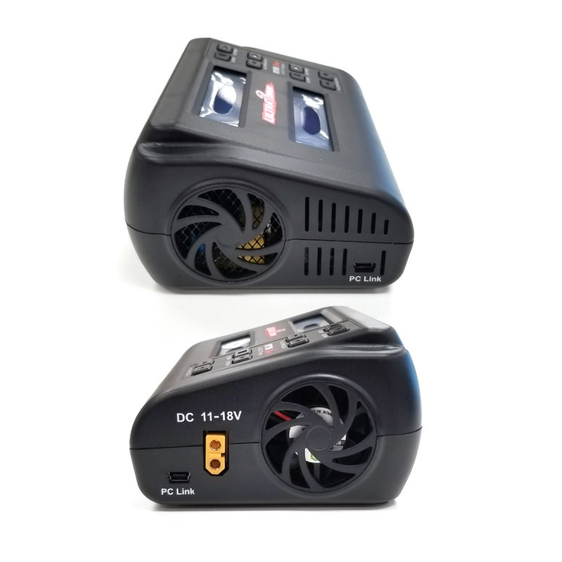 Image 3 of Ultra Power UP200 DUO 200W Dual Port Multi-Chemistry AC/DC Charge
