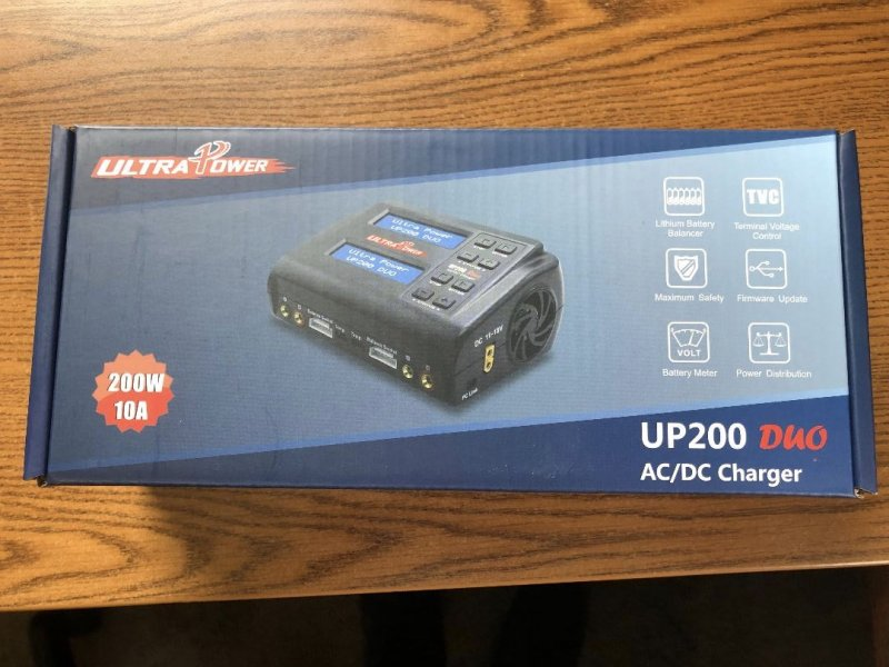 Image 0 of Ultra Power UP200 DUO 200W Dual Port Multi-Chemistry AC/DC Charge