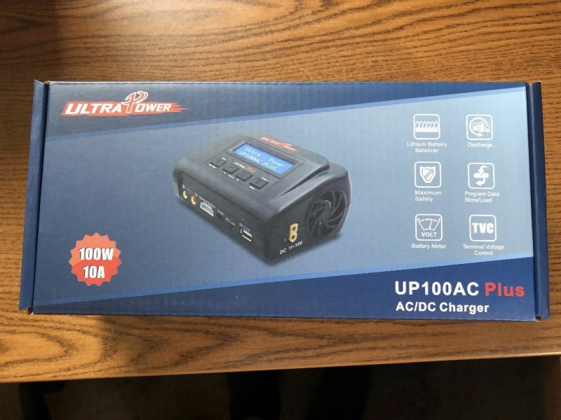 Image 0 of Ultra Power UP100AC Plus 100W Multi-Chemistry AC/DC Charger