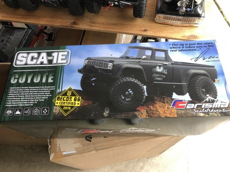 Image 8 of Carisma SCA-1E 1/10 Scale Coyote 4WD Scaler, RTR (285mm Wheelbase)