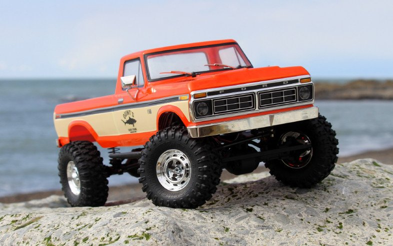Image 0 of Carisma SCA-1E 1/10 '76 Ford F-150 4WD Scale Crawler RTR, (324mm Wheelbase) Oran
