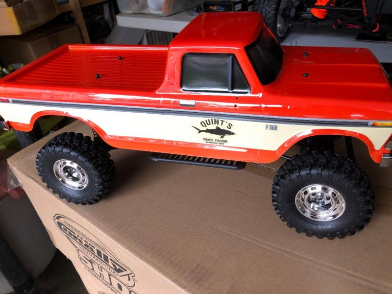Image 6 of Carisma SCA-1E 1/10 '76 Ford F-150 4WD Scale Crawler RTR, (324mm Wheelbase) Oran