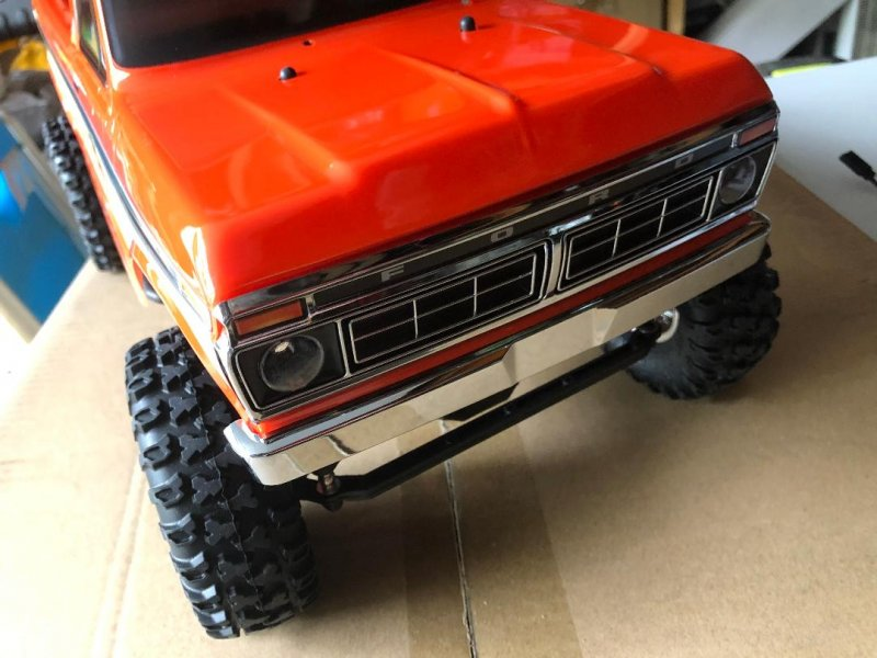 Image 7 of Carisma SCA-1E 1/10 '76 Ford F-150 4WD Scale Crawler RTR, (324mm Wheelbase) Oran
