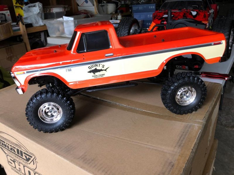 Image 8 of Carisma SCA-1E 1/10 '76 Ford F-150 4WD Scale Crawler RTR, (324mm Wheelbase) Oran