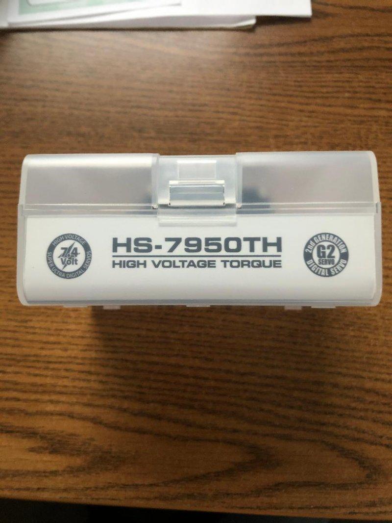 Image 1 of HS-7950TH Ultra Torque HV Coreless Titanium Gear Servo