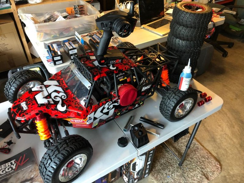 Image 9 of Losi DBXL Desert Buggy 1/5 scale gasoline 23cc w/many upgrades