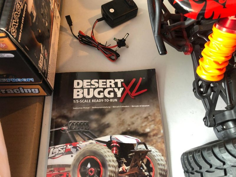 Image 10 of Losi DBXL Desert Buggy 1/5 scale gasoline 23cc w/many upgrades