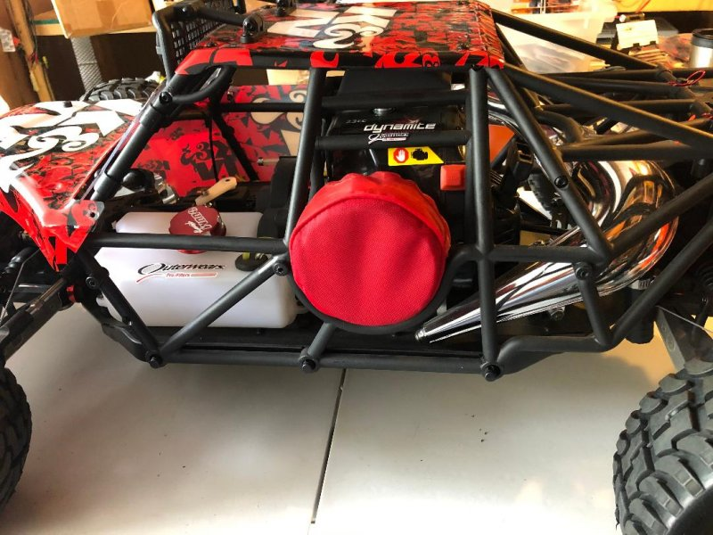 Image 1 of Losi DBXL Desert Buggy 1/5 scale gasoline 23cc w/many upgrades