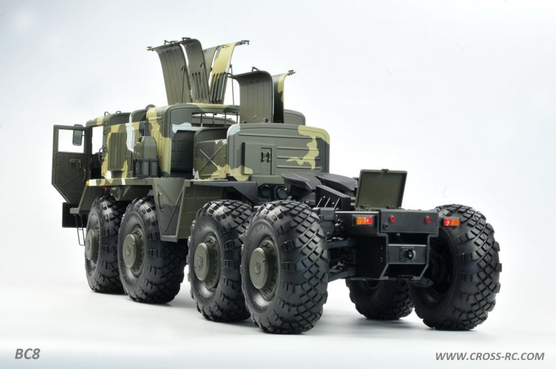 Image 1 of Cross r/c BC8 Mammoth 1/12 Scale 8x8 Off Road Military Truck Kit-Flagship Versio
