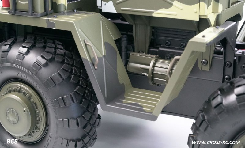 Image 3 of Cross r/c BC8 Mammoth 1/12 Scale 8x8 Off Road Military Truck Kit-Flagship Versio