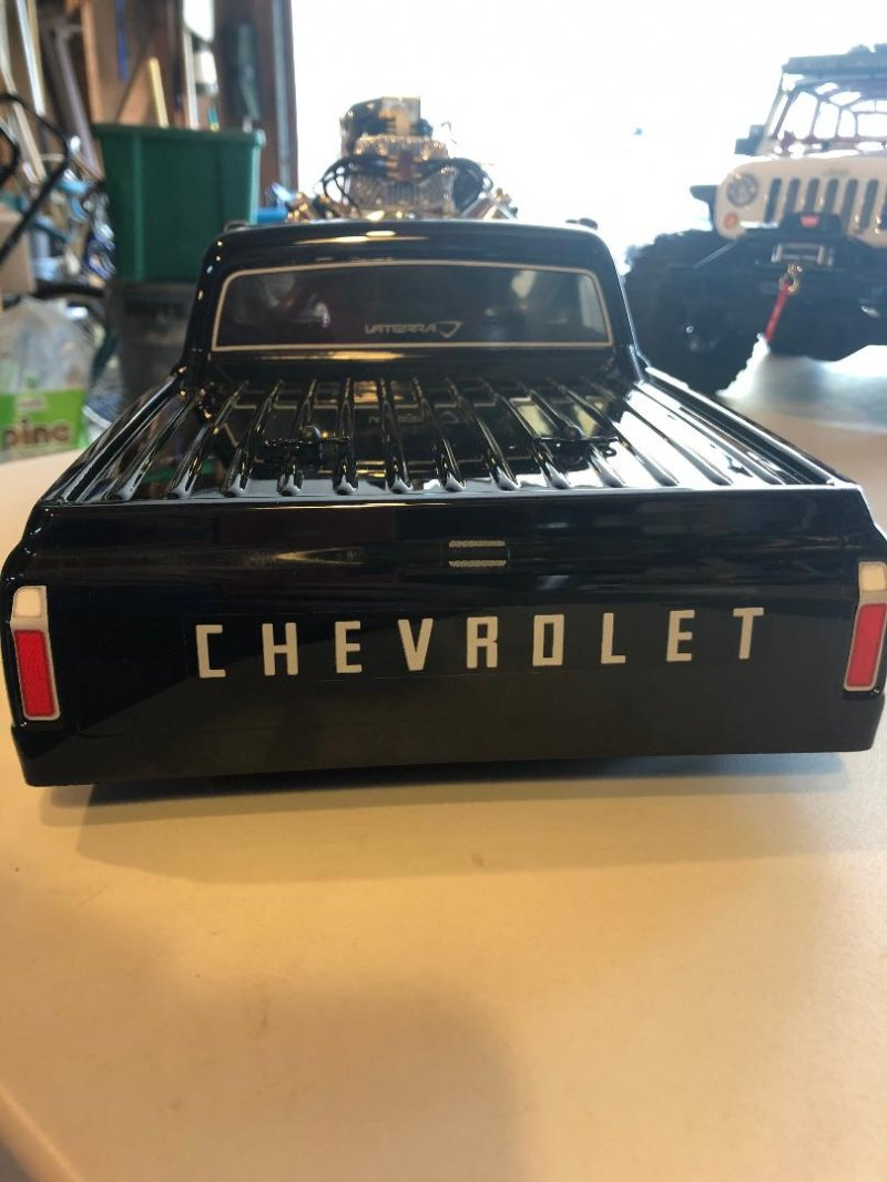 Image 3 of 1/10 1972 Chevy C10 Pickup Truck V-100 S 4WD Brushed RTR