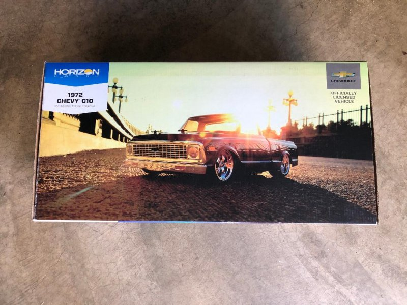 Image 7 of 1/10 1972 Chevy C10 Pickup Truck V-100 S 4WD Brushed RTR
