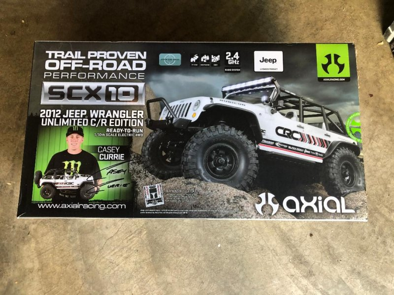 Image 10 of Axial 2012 Jeep Wrangler unlimited R/C edition crawler (many upgrades)