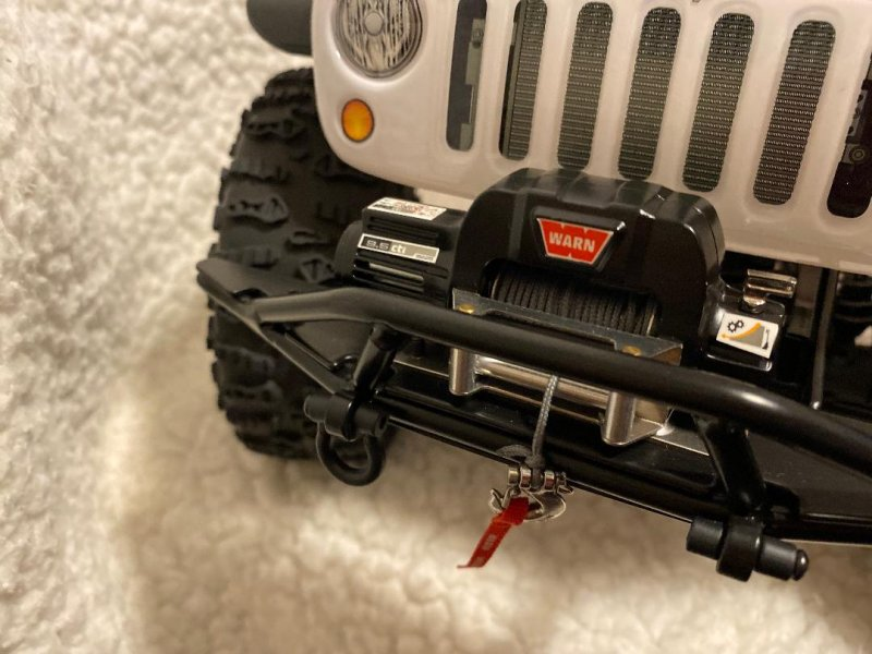 Image 3 of Axial 2012 Jeep Wrangler unlimited R/C edition crawler (many upgrades)