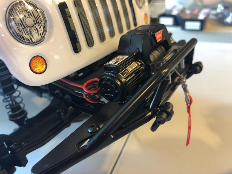 Image 5 of Axial 2012 Jeep Wrangler unlimited R/C edition crawler (many upgrades)