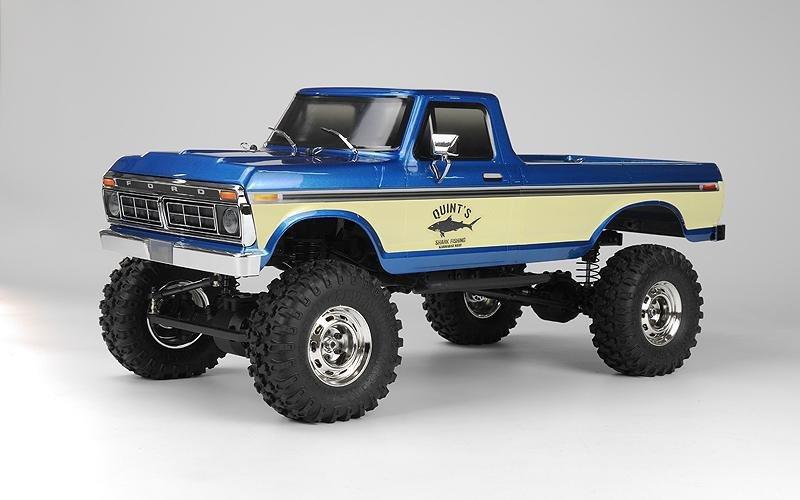 Image 0 of Carisma SCA-1E 1/10 Scale '76 Ford F-150 4WD Scaler, RTR (324mm Wheelbase) Blue