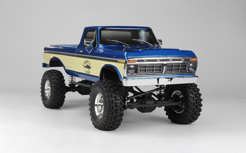 Image 1 of Carisma SCA-1E 1/10 Scale '76 Ford F-150 4WD Scaler, RTR (324mm Wheelbase) Blue