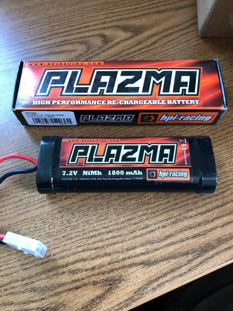 Image 0 of HPI Plazma 7.2V 1800Mah Nimh Stick Battery Pack