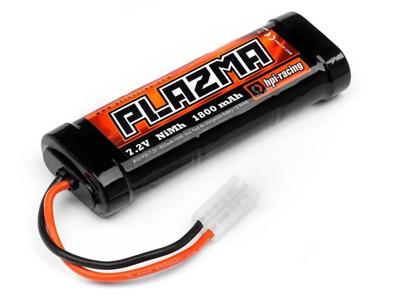 Image 1 of HPI Plazma 7.2V 1800Mah Nimh Stick Battery Pack