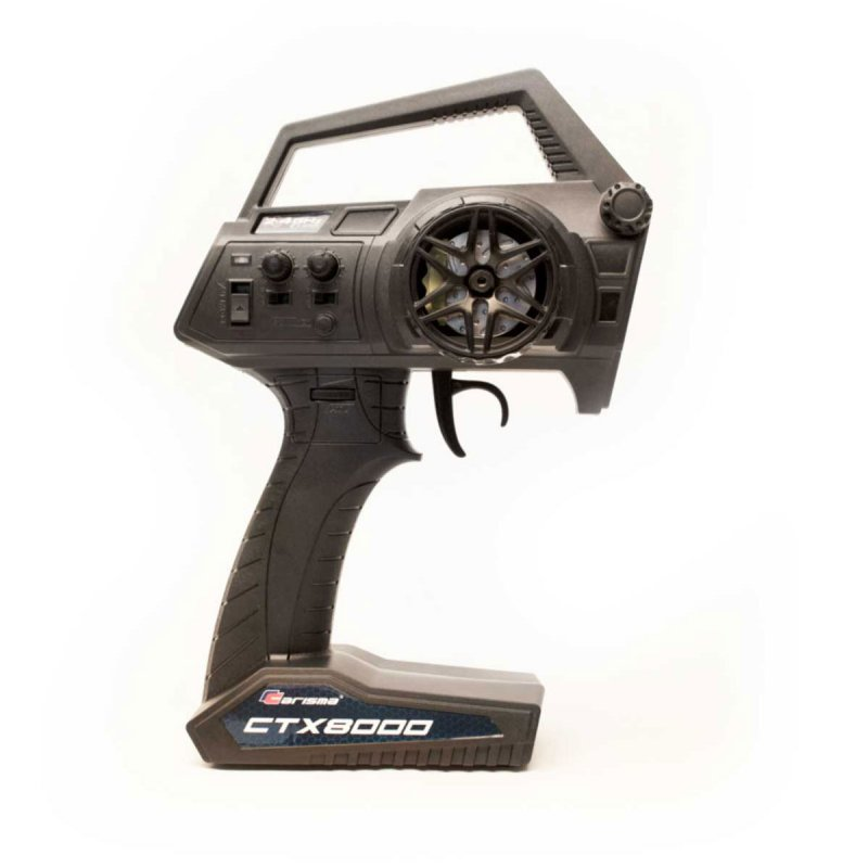 Image 4 of Carisma CTX8000 2.4GHz FHSS 2-Channel Pistol Radio w/ 2 Receivers