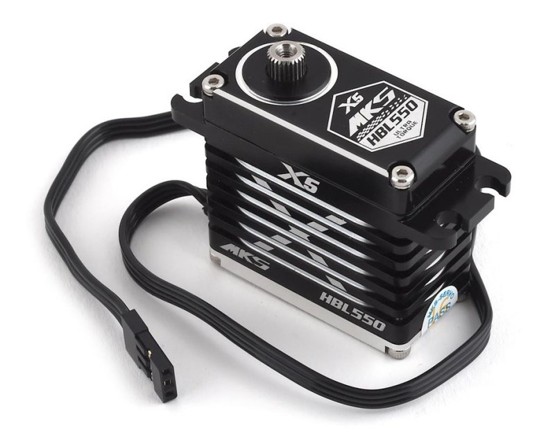 Image 0 of MKS Servos X5 HBL550 Brushless Titanium Gear High Torque Digital Servo (High Vol