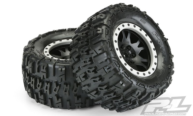 Image 2 of Trencher MX43 Pro-Loc All Terrain Tires (2) Mounted on Impulse Pro-Loc Wheels,