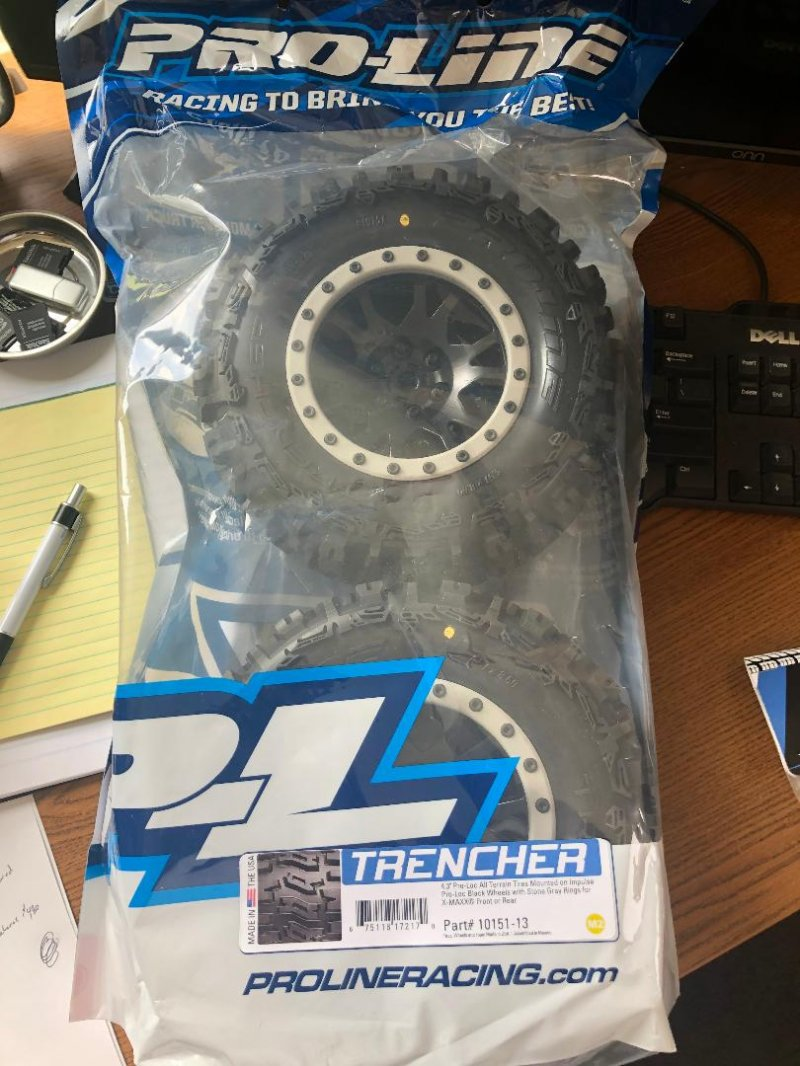Image 0 of Trencher MX43 Pro-Loc All Terrain Tires (2) Mounted on Impulse Pro-Loc Wheels,