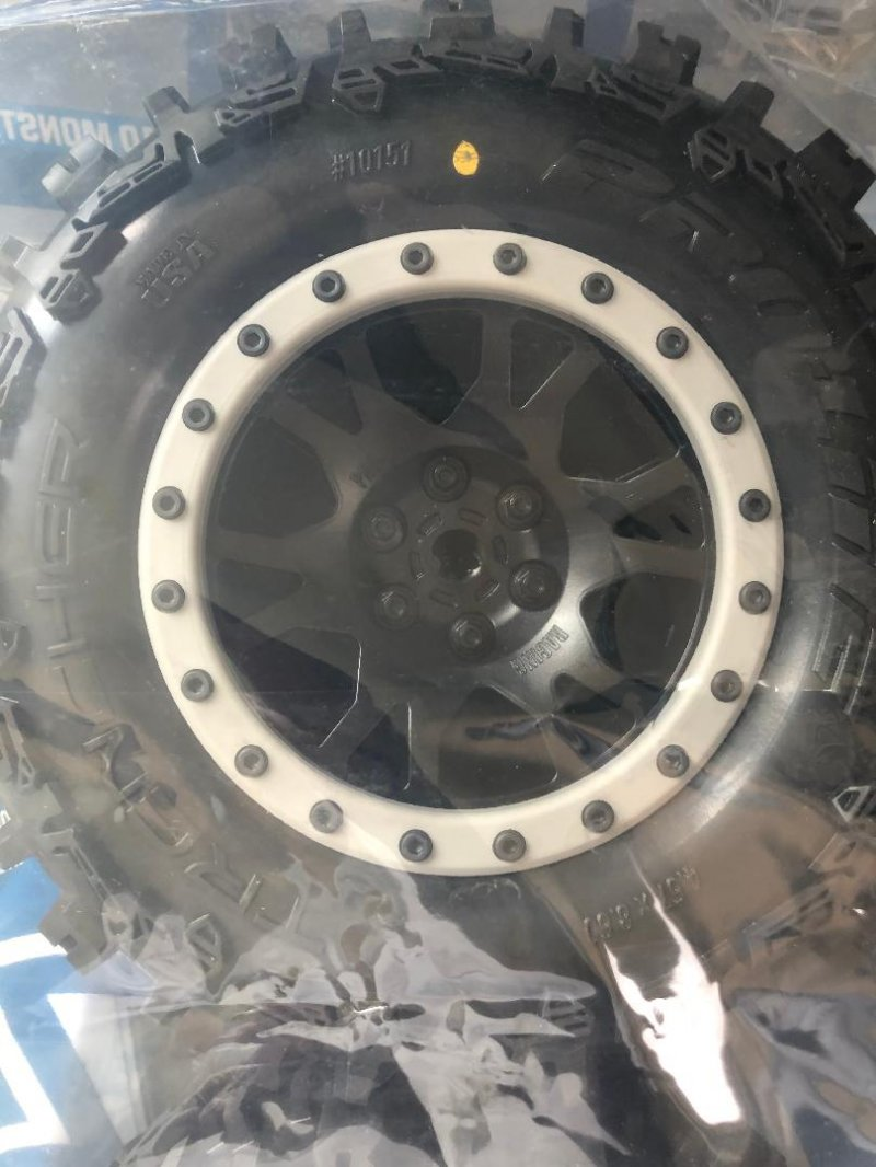 Image 1 of Trencher MX43 Pro-Loc All Terrain Tires (2) Mounted on Impulse Pro-Loc Wheels,