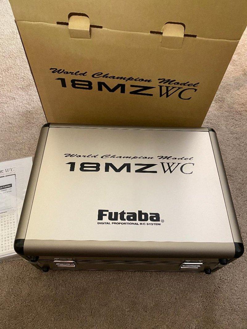 Image 1 of  Futaba 18MZA 2.4GHz FASST Aircraft Spec Radio System w/(2) R7008SB Receivers