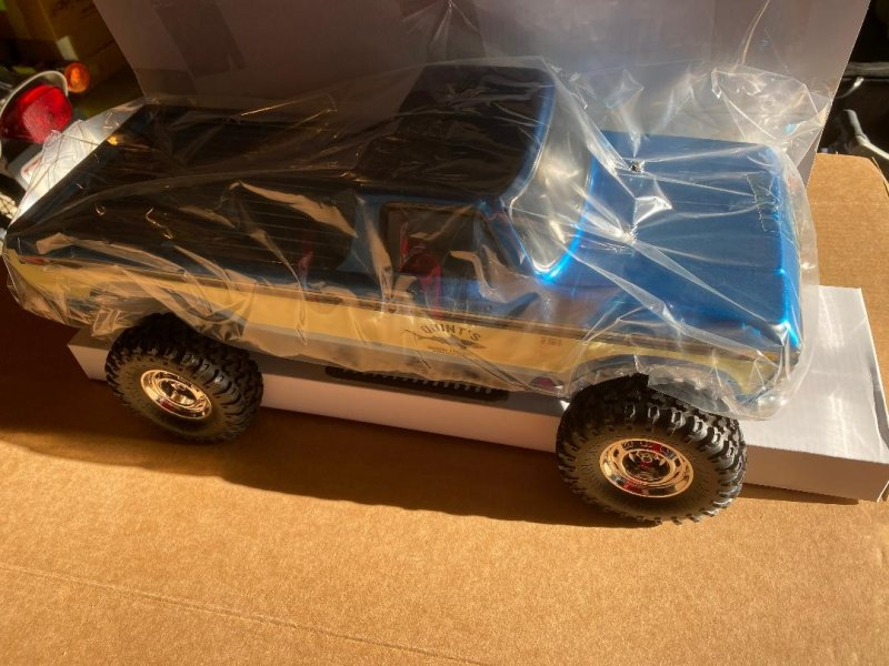 Image 3 of Carisma SCA-1E 1/10 Scale '76 Ford F-150 4WD Scaler, RTR (324mm Wheelbase) Blue
