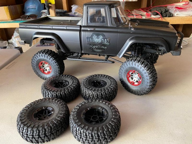 Image 0 of Carisma SCA-1E 1/10 Scale Coyote 4WD Scaler, RTR (285mm Wheelbase)