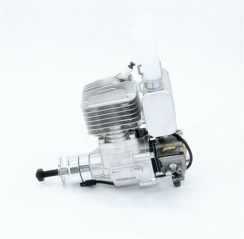 Image 0 of RCGF 26cc RE rear carb walbro & rear exhaust Stinger