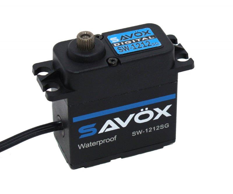 Image 0 of Savox SAVSW1212SG-BE Waterproof, High Torque, HV Coreless Digital Servo