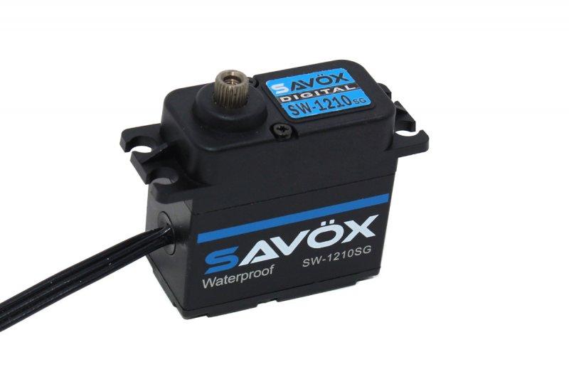 Image 0 of Savox SAVSW1210SG-BE Waterproof High Voltage Digital Servo 0.13sec / 444.4oz
