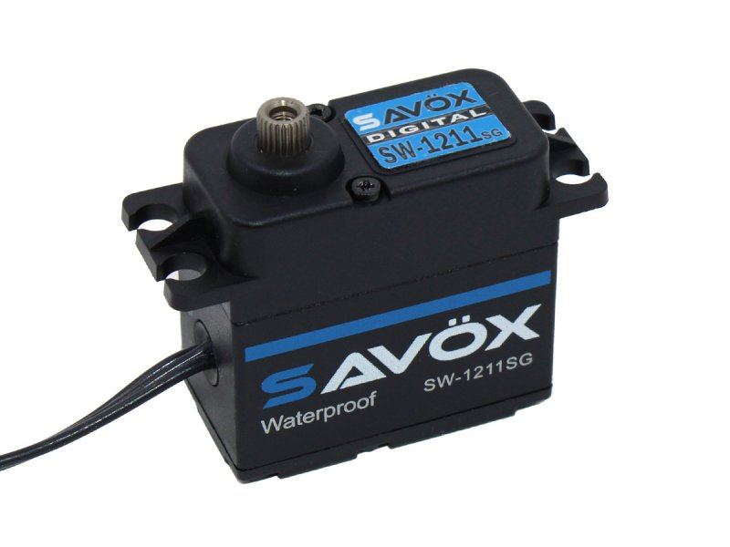 Image 0 of Savox SAVSW1211SG-BE Waterproof High Voltage Digital Servo 0.08sec / 347.2oz