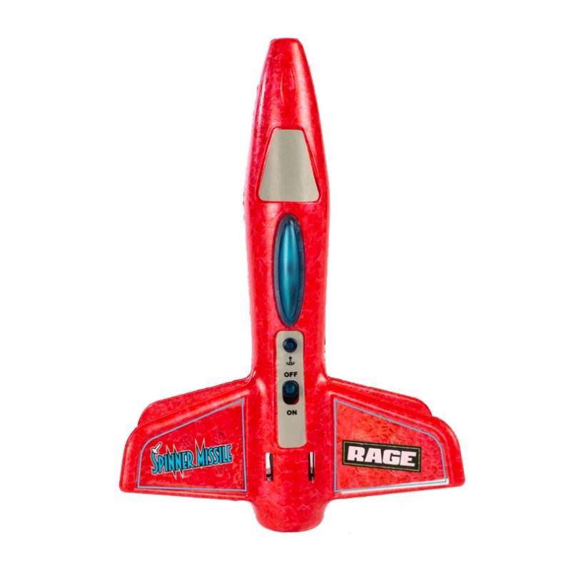 Image 0 of Rage Spinner Missile - RED Electric Free-Flight Rocket