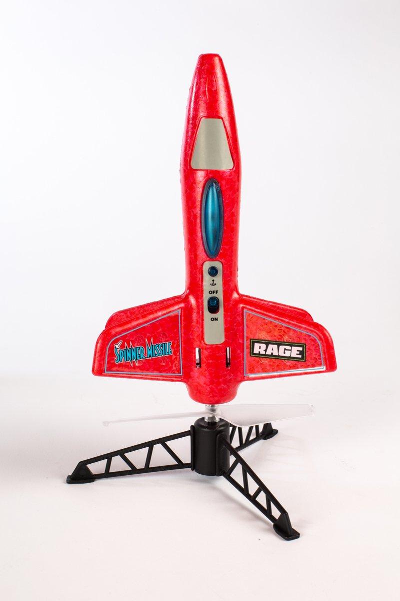 Image 1 of Rage Spinner Missile - RED Electric Free-Flight Rocket