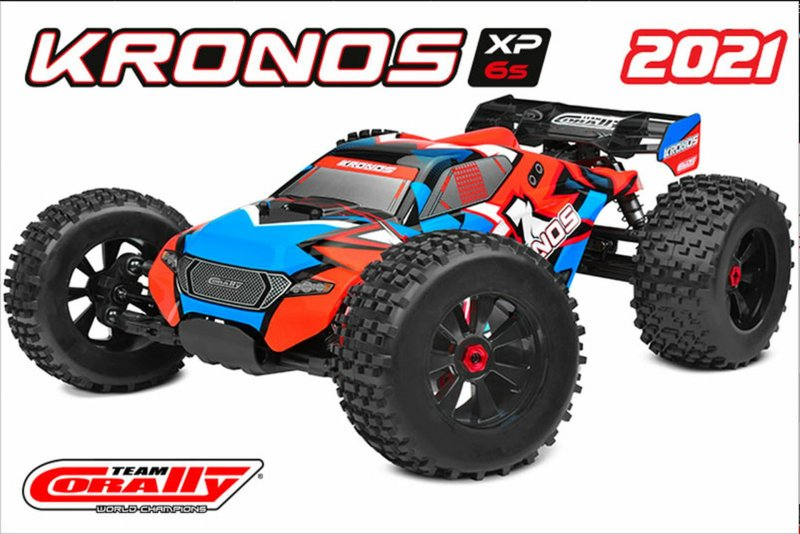 Image 7 of Corally 1/8 Kronos XP 4WD Monster Truck 6S Brushless RTR V2