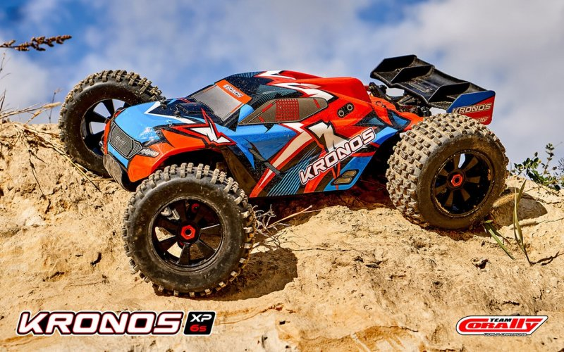 Image 9 of Corally 1/8 Kronos XP 4WD Monster Truck 6S Brushless RTR V2