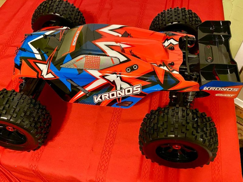 Image 2 of Corally 1/8 Kronos XP 4WD Monster Truck 6S Brushless RTR V2