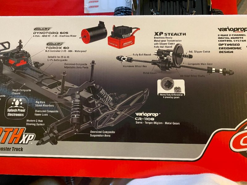 Image 4 of Corally 1/10 Mammoth XP 2WD Desert Truck Brushless RTR (No Battery or Charger)