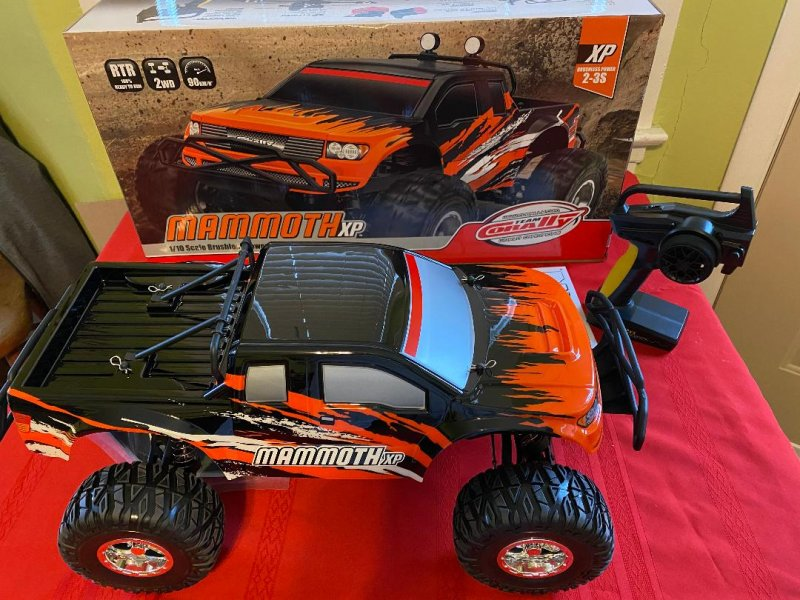Image 0 of Corally 1/10 Mammoth XP 2WD Desert Truck Brushless RTR (No Battery or Charger)