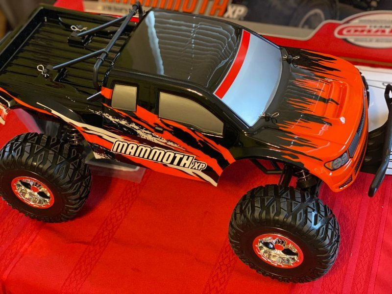 Image 1 of Corally 1/10 Mammoth XP 2WD Desert Truck Brushless RTR (No Battery or Charger)