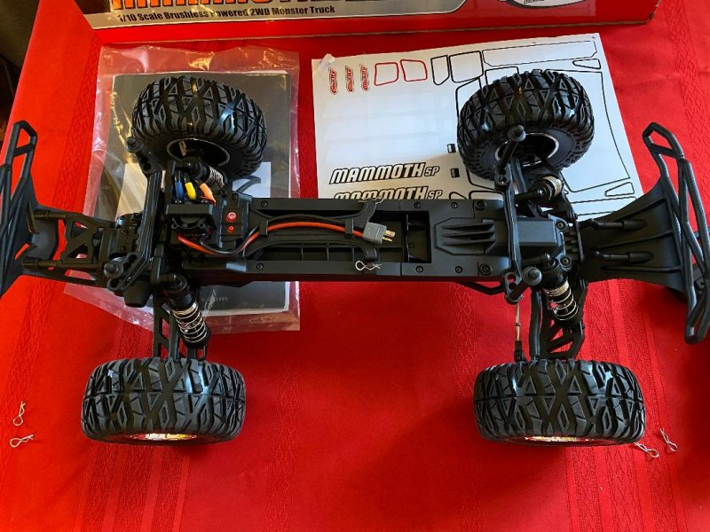 Image 2 of Corally 1/10 Mammoth XP 2WD Desert Truck Brushless RTR (No Battery or Charger)