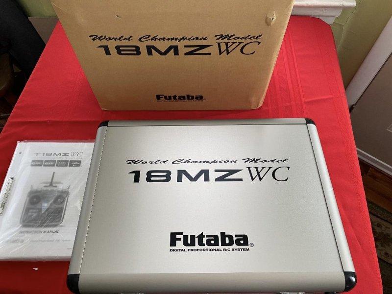 Image 0 of  Futaba18MZA 2.4GHz FASST Aircraft Spec Radio System w/ (2) R7008SB Receivers