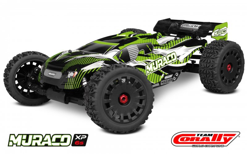 Image 0 of Corally Muraco XP 6S 1/8 Truggy LWB RTR Brushless Power 6S